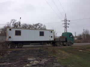 Отгрузка оборудования для строительства и монтажа котельной установки
