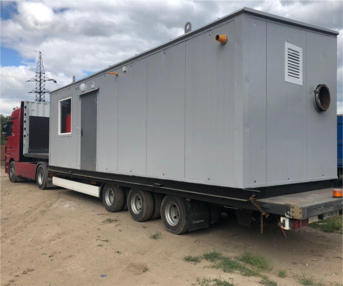 Изготовление и отгрузка модульной котельной УМК-2200 в Краснодарский край